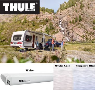 Thule Omnistor 6300 Awning White for vans, caravans and motorhomes